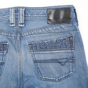 Diesel Timmen Medium Wash Straight Leg Jeans